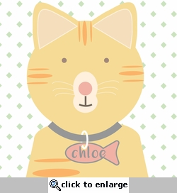 Paw Pals: Cat Tag Custom 12 x 12 Paper