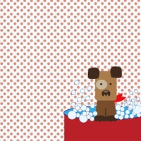 Paw Pals: Dog Bath Time 12 x 12 Paper