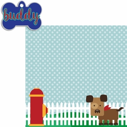 Paw Pals: Dog Tag 2 Piece Custom Laser Die Cut Kit