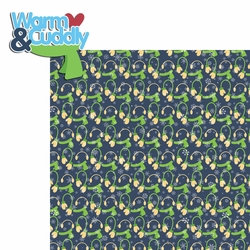 Penguin: Warm and Cuddly 2 Piece Laser Die Cut Kit