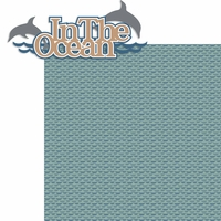 Perfect Vacation: In The Ocean 2 Piece Laser Die Cut Kit