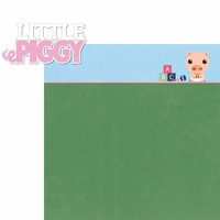 Piggy: Little Piggy 2 Piece Laser Die Cut Kit