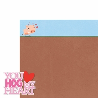 Piggy: You Hog My Heart 2 Piece Laser Die Cut Kit