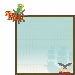Pirate: Ahoy 2 Piece Laser Die Cut Kit