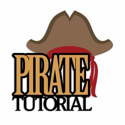 Pirates: Pirate Tutorial Laser Die Cut