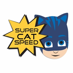 PJ: Super Cat Laser Die Cut