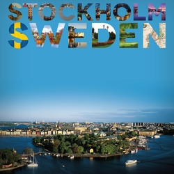 Places To See: Stockholm 12 x 12 Paper