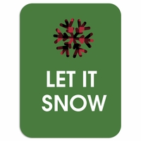 Plaid: Let it Snow Laser Die Cut