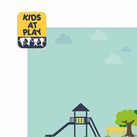 Play Date: Kids at Play 2 Piece Laser Die Cut Kit