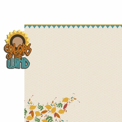 Pocahontas: Color of Wind 2 Piece Laser Die Cut Kit