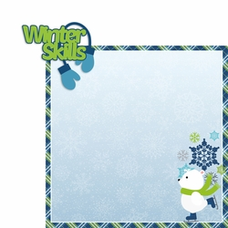 Polar Bear: Winter Skills 2 Piece Laser Die Cut Kit