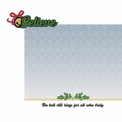 Polar Express: Bell Rings 2 Piece Laser Die Cut Kit
