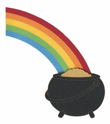 Pot of Gold Page Corner Laser Die Cut