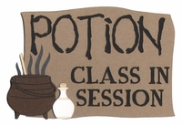Potion Class In Session Laser Die Cut