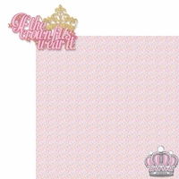 Princess: If The Crown Fits Wear It 2 Piece Laser Die Cut Kit