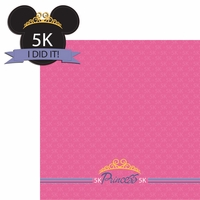 Princess Run: 5K 2 Piece Laser Die Cut Kit