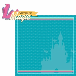 Princess Run: Every Mile 2 Piece Laser Die Cut Kit