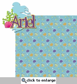 Princesses: Ariel 2 Piece Laser Die Cut Kit