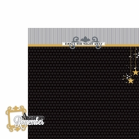 Prom: Night to remember 2 Piece Laser Die Cut Kit