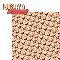 Pug-tastic: Pugs and Kisses 2 Piece Laser Die Cut Kit