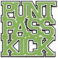 Punt Pass Kick 3-Layer Laser Die Cut