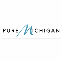 Pure Michigan Laser Die Cut
