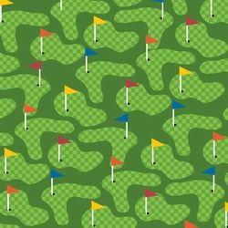 Putt Putt: Hole In One 12 x 12 Paper