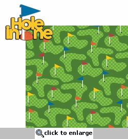 Putt Putt: Hole In One 2 Piece Laser Die Cut Kit