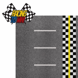Racing Season: Racing To Win! 2 Piece Laser Die Cut Kit