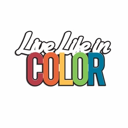 Rainbow: Live Life in Color  Laser Die Cut