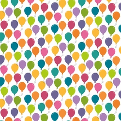 1SYT Rainbow Sprinkles: Balloons 12 x 12 Paper