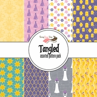 Rapunzel Assorted 12 x 12 Paper Pack