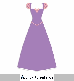 Rapunzel: Dress Laser Die Cut