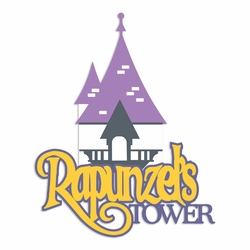 Rapunzel: Tower Laser Die Cut