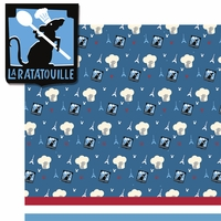 Ratatouille: La Ratatouille 2 Piece Laser Die Cut Kit