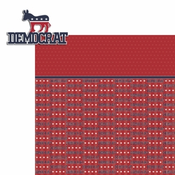 Register to Vote: Democrat 2 Piece Laser Die Cut Kit