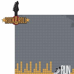 Rock & Roll Run 2 Piece Laser Die Cut Kit