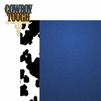 Rodeo: Cowboy Tough 2 Piece Laser Die Cut Kit