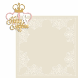 Royal Wedding 2 Piece Laser Die Cut Kit