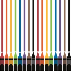 ROYGBIV: Color with Me 12 x 12 Paper