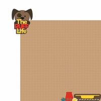 Ruff Life  2 Piece Laser Die Cut Kit
