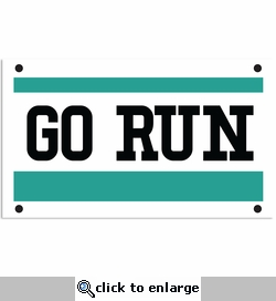 Running: Go Run Laser Die Cut