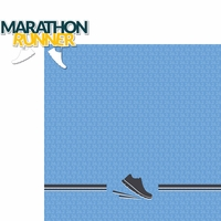 Running: Marathon Runner 2 Piece Laser Die Cut Kit