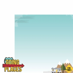 RV: Going Places 2 Piece Laser Die Cut Kit