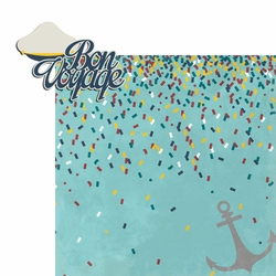 Sail Away: Bon Voyage 2 Piece Laser Die Cut Kit