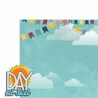 Sail Away: Day at Sea 2 Piece Laser Die Cut Kit
