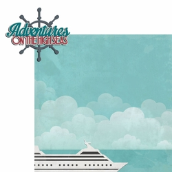 Sail Away: High Seas 2 Piece Laser Die Cut Kit