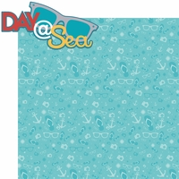 Sailing Away: Day @ Sea 2 Piece Laser Die Cut Kit