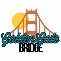 San Francisco: Golden Gate Laser Die Cut