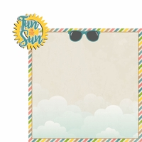 Sandy Toes: Fun in the Sun 2 Piece Laser Die Cut Kit
